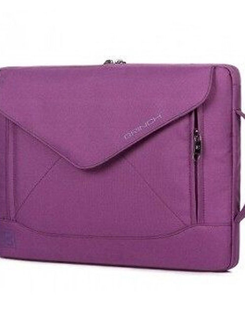 14 Inch Fashion Dual-use laptop Notebook Sleeve Bag With Shoulder Straps PURPLE