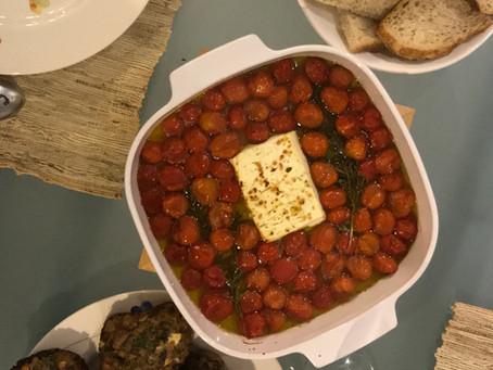 Baked Feta & Tomato