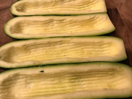 Stuffed Zucchini Boat Casserole