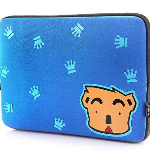 High Quality Waterproof Laptop Sleeves 14-14.4 Inch Cartoon Laptop Sleeve BLUE