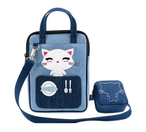Strap Shoulder Bag Cute Liner Bag Zipper Handbag Laptop Sleeve Laptop Protective
