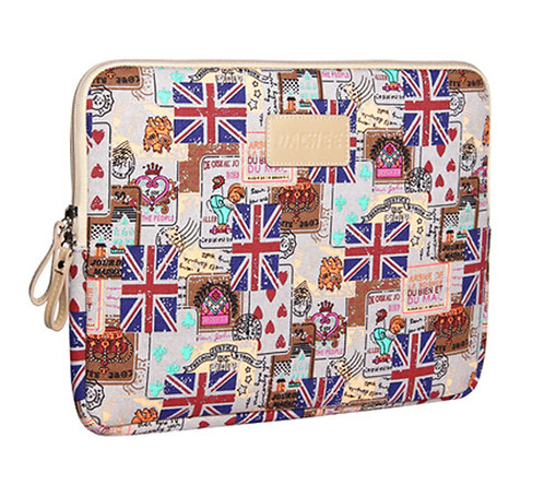 13.3 Inch Laptop Sleeve Professional Protective Sleeve Light GREY Union Flag