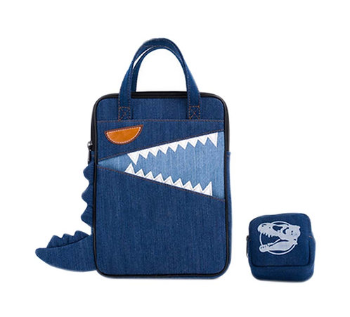 Cowboy Canvas Liner Bag Handbag Zipper Tablet Cases Laptop Sleeve Wear Resistant