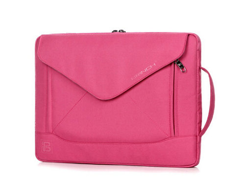14 Inch Fashion Dual-use laptop Notebook Sleeve Bag With Shoulder Straps PINK