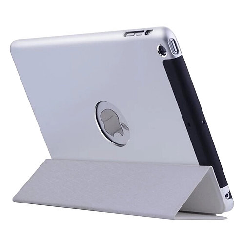 Stylish iPad Case iPad Mini 1/2/3 Protective Cases Metal Slim Cover Silver