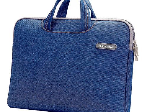 Fashion 14 Inch Laptop Sleeve Simple Professional Protective Sleeve DENIM BLUE