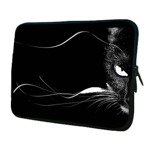 Lovely Cat Pattern Laptop/Tablet Computer Bags, Protective Sleeves