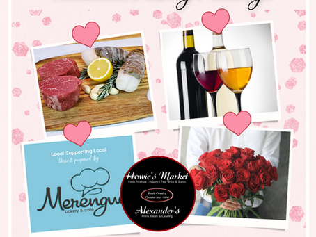Valentine's Dinner Packages are here!