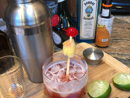 Recipe: Singapore Sling Cocktail