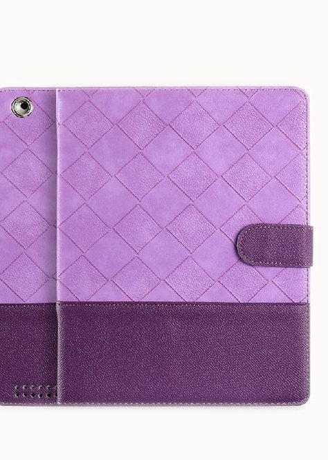 Superior Protective Case for IPad 4/3/2 Deep purple & Purple (Quiet Lavender )