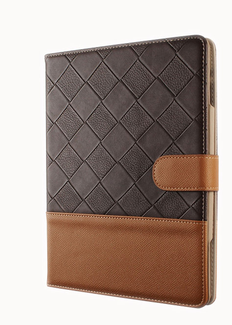 Superior Protective Case for IPad 4/3/2 Brown & Coffee (Gentleman Manners)