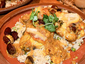 Moroccan Chicken with Lemon and Olives (Djef Makalli)