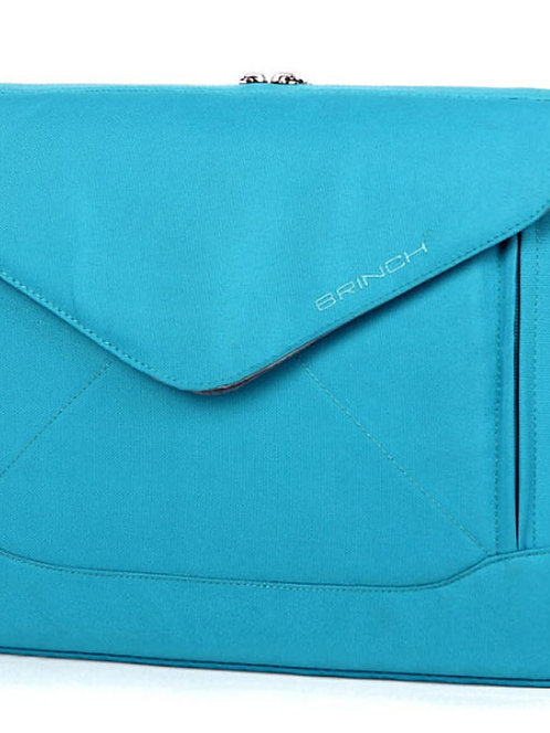 14 Inch Fashion Dual-use laptop Notebook Sleeve Bag With Shoulder Straps BLUE