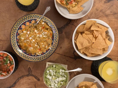 Spin on Traeger Grill's Queso Dip