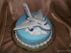 Торт самолёт, ракета