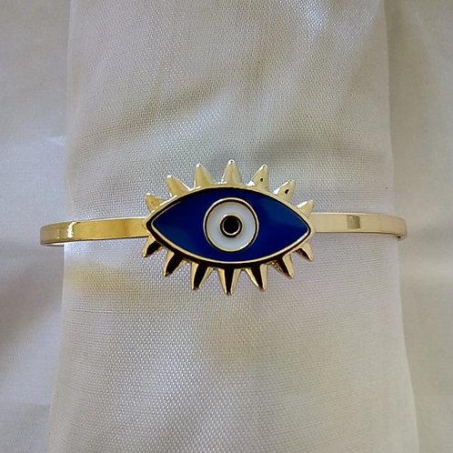 Bracelete Olho Marinho Ajustável