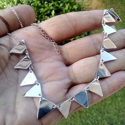 Shocker Triângulo Ródio Branco