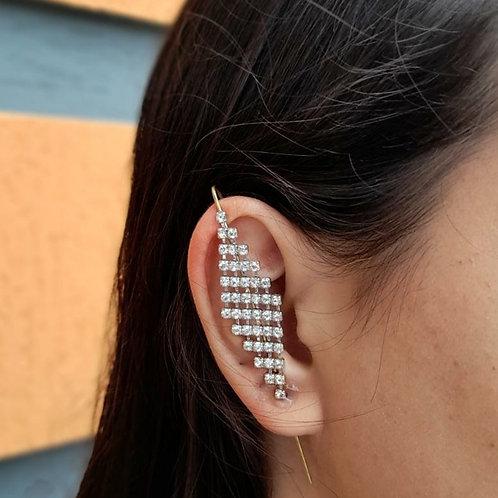 Brinco Ear Pin Losango (UNITÁRIO)