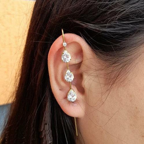 Brinco Ear Pin Borboleta (UNITÁRIO)