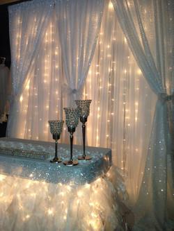 Starlight/Sequin Double Backdrop