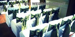 Basic chair covers with sash Buffalo