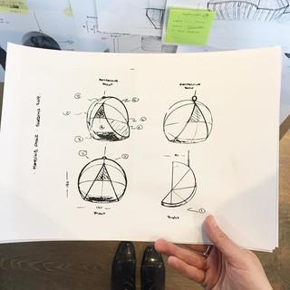 First sketch before we start designing o