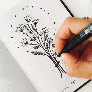 handmade illustration tanya rey