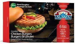 AL SAFA Chicken Burgers