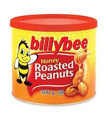 Billy Bee Honey Roasted Peanuts