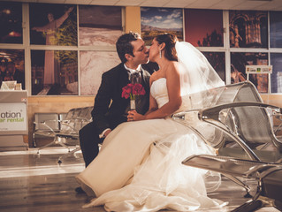 Fernanda y Bert | Day After Session | Aeropuerto Internacional de Saltillo | Multicutural Wedding |