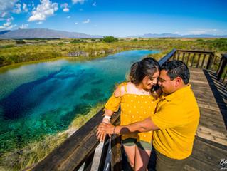 Pamela y Luis - Save The Date - Cuatrociénegas Coahuila - Fotografía de Boda - Sesión Previa