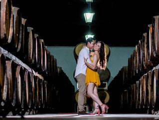 Fernanda y Alfredo - Save The Date Session - Sesión Previa - Parras de la Fuenta - Casa Madero - Ses