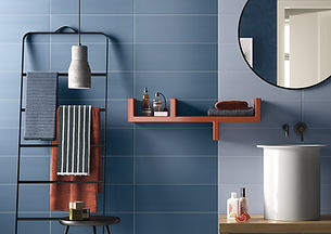 CERAMIC WALL TILES, COLORS WHITE GREEN BLUE,