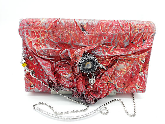 Melted Fabric Purse/Clutch 3