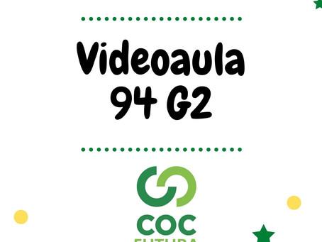 Videoaula 94 G2 Educação Infantil