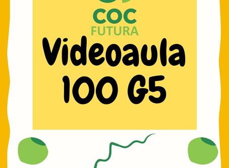 Videoaula 100 G5 Educação Infantil