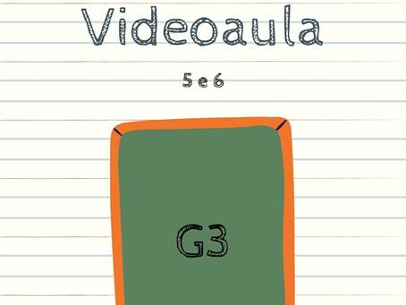 Videoaula 5 e 6 G3 Educação Infantil