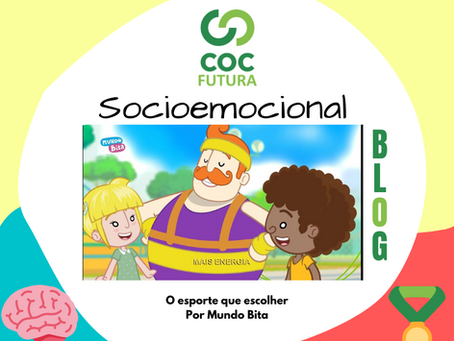 O Esporte que Escolher Socioemocional Educação Infantil