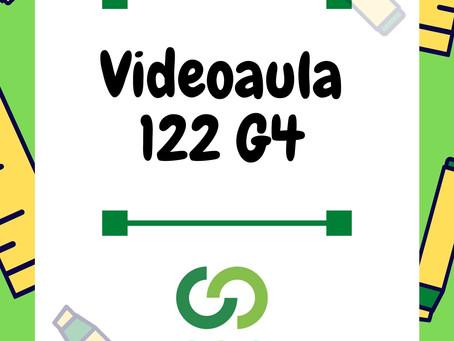 Videoaula 122 G4 Educação Infantil