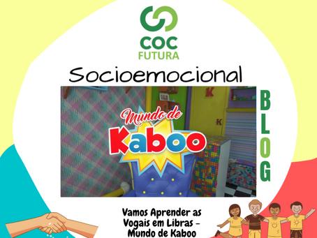 Vogais em Libras Socioemocional Educação Infantil