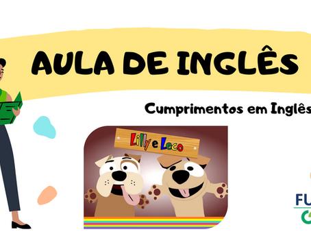 Cumprimentos Inglês Educação Infantil
