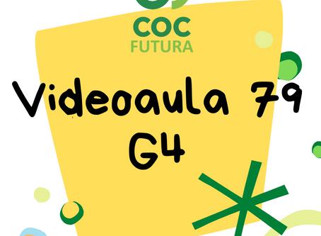 Videoaula 79 G4 Educação Infantil