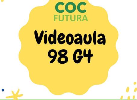 Videoaula 98 G4 Educação Infantil