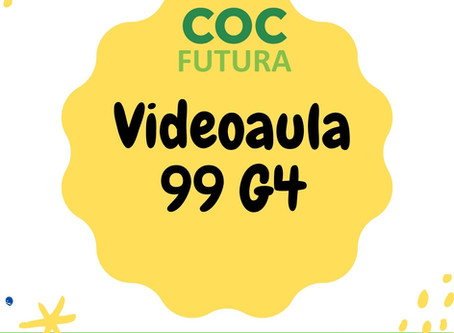 Videoaula 99 G4 Educação Infantil