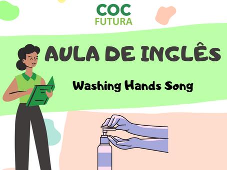 Washng Hands Song Inglês Educação Infantil