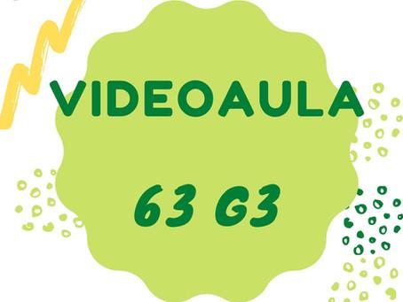 Videoaula 63 G3 Educação Infantil