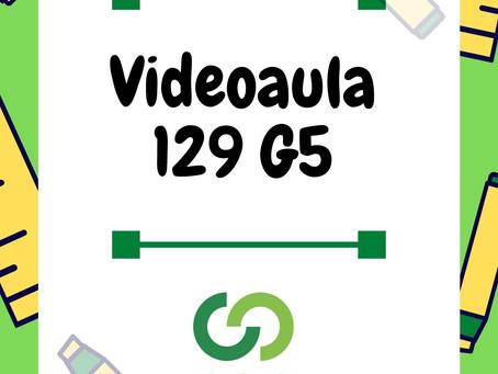 Videoaula 129 G5 Educação Infantil