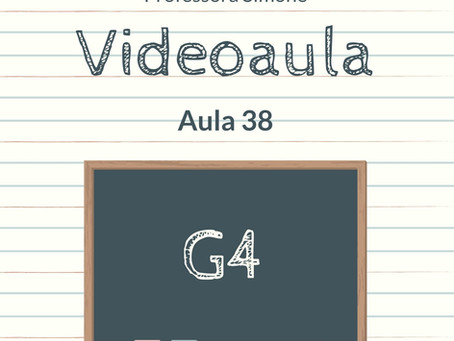 Videoaula 38 G4 Educação Infantil