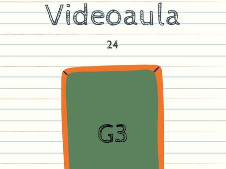 Videoaula 24 G3 Educação Infantil