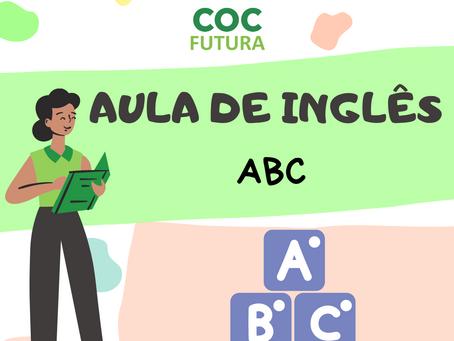 ABC em Inglês Educação Infantil